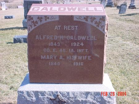 CALDWELL, ALFRED HAMPTON - Jefferson County, Iowa | ALFRED HAMPTON CALDWELL