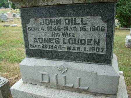 DILL, JOHN - Jefferson County, Iowa | JOHN DILL
