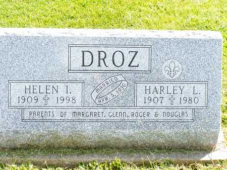 DROZ, HELEN - Jefferson County, Iowa | HELEN DROZ