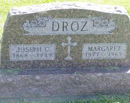 DROZ, MARGARET - Jefferson County, Iowa | MARGARET DROZ