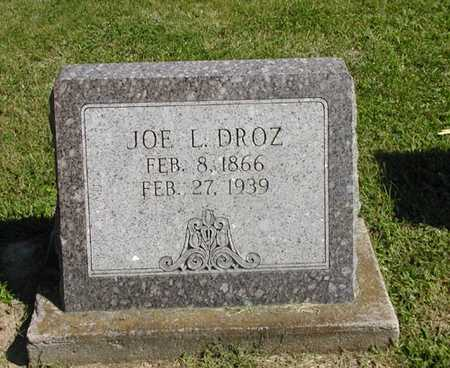 DROZ, JOE L. - Jefferson County, Iowa | JOE L. DROZ