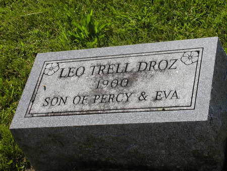 DROZ, LEO TRELL - Jefferson County, Iowa | LEO TRELL DROZ