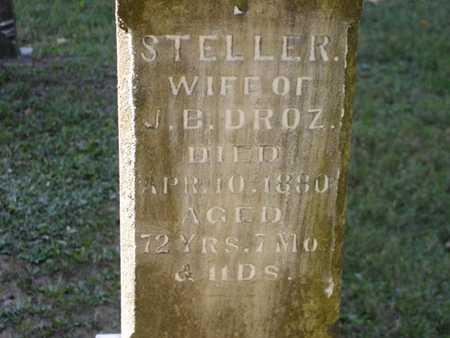 DROZ, STELLAR - Jefferson County, Iowa   STELLAR DROZ