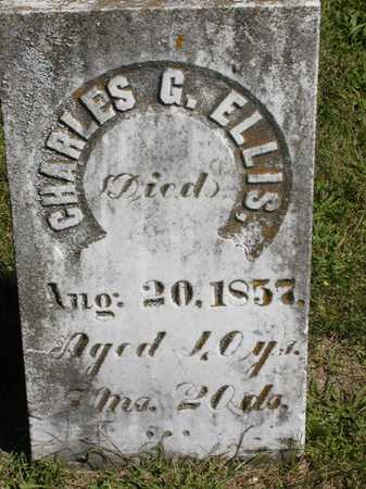 ELLIS, CHARLES G. - Jefferson County, Iowa | CHARLES G. ELLIS