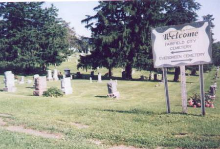 FAIRFIELD CITY, CEMETERY - Jefferson County, Iowa | CEMETERY FAIRFIELD CITY