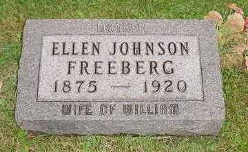 JOHNSON FREEBERG, ELLEN - Jefferson County, Iowa | ELLEN JOHNSON FREEBERG
