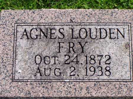 FRY, AGNES - Jefferson County, Iowa | AGNES FRY