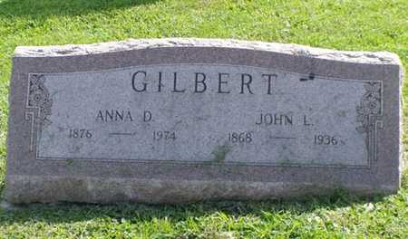 GILBERT, ANNA D. - Jefferson County, Iowa | ANNA D. GILBERT