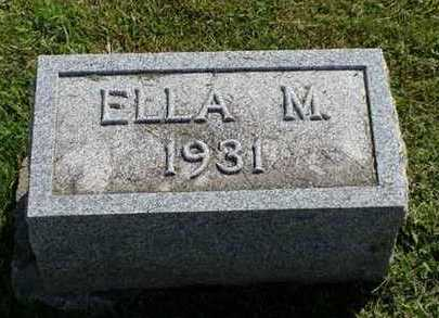 ALLEN, ELLA M. - Jefferson County, Iowa | ELLA M. ALLEN