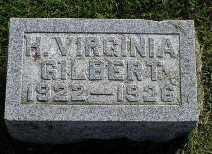 GILBERT, HARRIETT V. - Jefferson County, Iowa | HARRIETT V. GILBERT