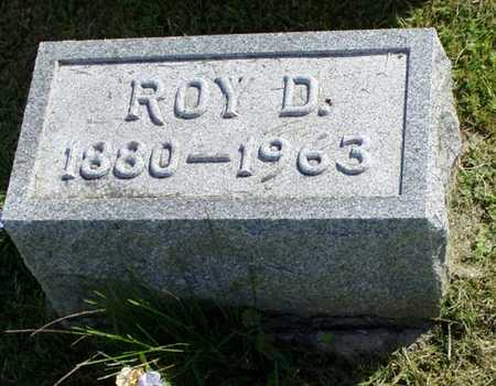 ALLEN, ROY DES MOINES - Jefferson County, Iowa | ROY DES MOINES ALLEN