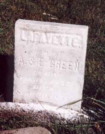 GREEN, LAFAYETTE - Jefferson County, Iowa | LAFAYETTE GREEN