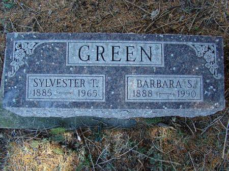 GREEN, BARBARA S - Jefferson County, Iowa | BARBARA S GREEN