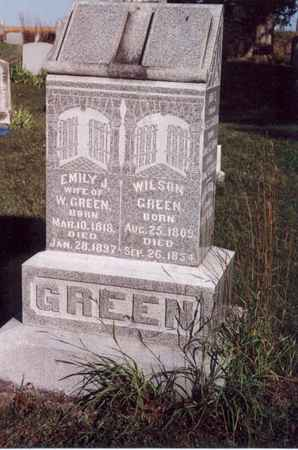 GREEN, EMILY JANE - Jefferson County, Iowa | EMILY JANE GREEN