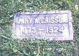 GRISSOM, MARY - Jefferson County, Iowa | MARY GRISSOM