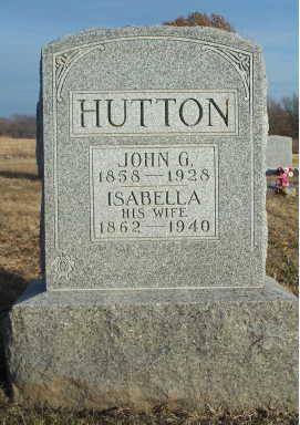 HUTTON, ISABELLA - Jefferson County, Iowa | ISABELLA HUTTON