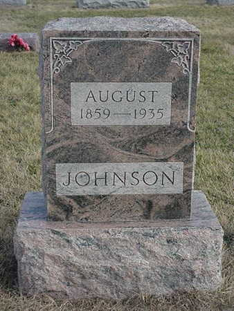 JOHNSON, AUGUST - Jefferson County, Iowa | AUGUST JOHNSON