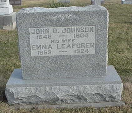 JOHNSON, JOHN O. - Jefferson County, Iowa | JOHN O. JOHNSON