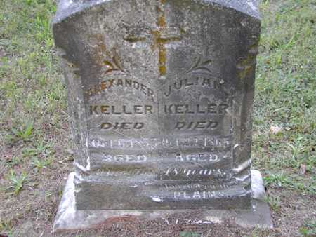 KELLER, JULIAN - Jefferson County, Iowa | JULIAN KELLER