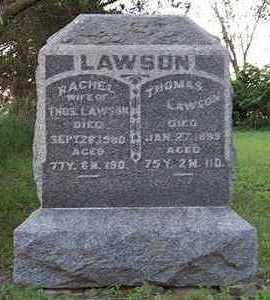 LAWSON, THOMAS - Jefferson County, Iowa | THOMAS LAWSON
