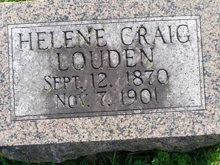 LOUDEN, HELENE - Jefferson County, Iowa | HELENE LOUDEN