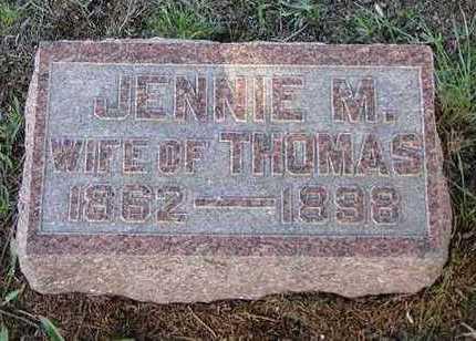 LOUDEN, JENNIE - Jefferson County, Iowa | JENNIE LOUDEN