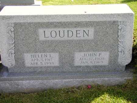 LOUDEN, HELEN - Jefferson County, Iowa | HELEN LOUDEN