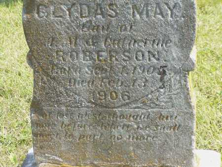ROBERTSON, GLYDAS MAY - Jefferson County, Iowa | GLYDAS MAY ROBERTSON