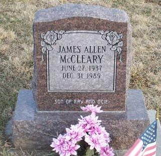 MCCLEARY, JAMES ALLEN - Jefferson County, Iowa | JAMES ALLEN MCCLEARY