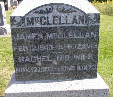 MCCLELLAN, JAMES - Jefferson County, Iowa | JAMES MCCLELLAN