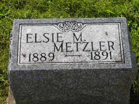METZLER, ELSIE - Jefferson County, Iowa | ELSIE METZLER