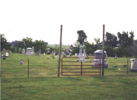 MT. ZION, CEMETERY - Jefferson County, Iowa | CEMETERY MT. ZION