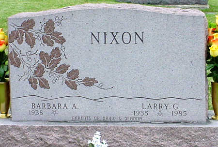 NIXON, LARRY GRANT - Jefferson County, Iowa | LARRY GRANT NIXON