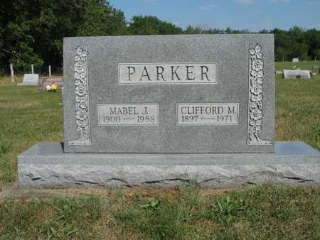 PARKER, MABEL J - Jefferson County, Iowa | MABEL J PARKER