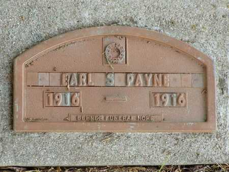 PAYNE, EARL S. - Jefferson County, Iowa | EARL S. PAYNE
