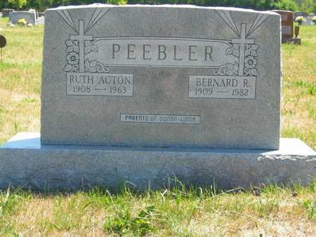 ACTON PEEBLER, RUTH - Jefferson County, Iowa | RUTH ACTON PEEBLER