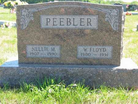 PEEBLER, NELLIE M - Jefferson County, Iowa | NELLIE M PEEBLER