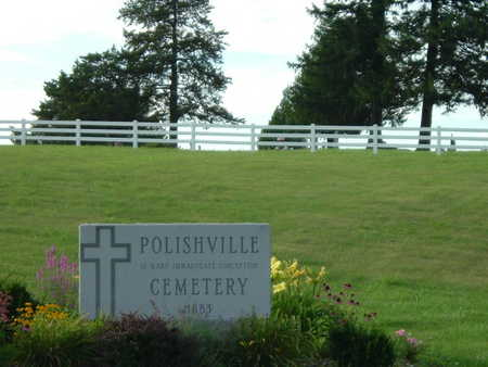 POLISHVILLE, ST. MARY, CEMETERY - Jefferson County, Iowa | CEMETERY POLISHVILLE, ST. MARY