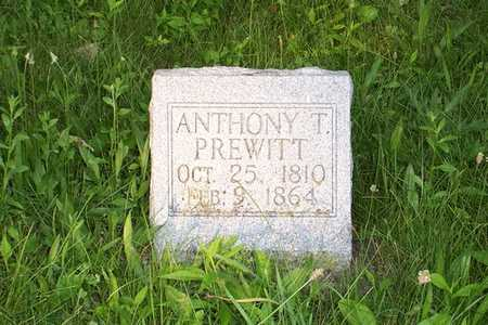 PREWITT, ANTHONY T. - Jefferson County, Iowa | ANTHONY T. PREWITT