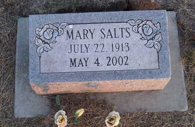 SALTS, MARY - Jefferson County, Iowa | MARY SALTS