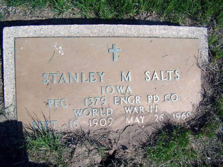 SALTS, STANLEY M. - Jefferson County, Iowa | STANLEY M. SALTS
