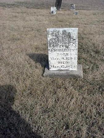 SCHILLERSTROM, ANNA CAISA - Jefferson County, Iowa | ANNA CAISA SCHILLERSTROM