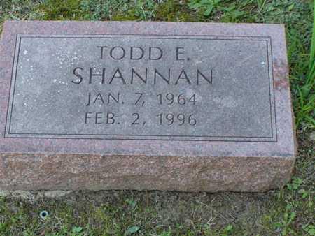 SHANNAN, TODD EDWARD - Jefferson County, Iowa | TODD EDWARD SHANNAN