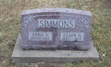 SIMMONS, ANNA - Jefferson County, Iowa | ANNA SIMMONS