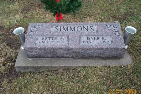 SMITH SIMMONS, BETTE - Jefferson County, Iowa | BETTE SMITH SIMMONS