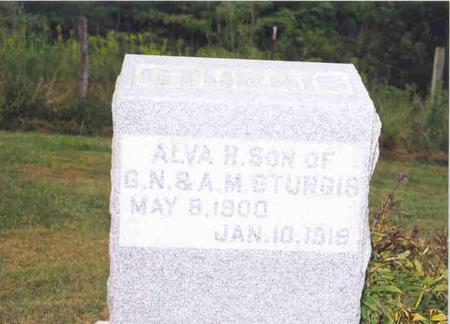 STURGIS, ALVA R. - Jefferson County, Iowa   ALVA R. STURGIS