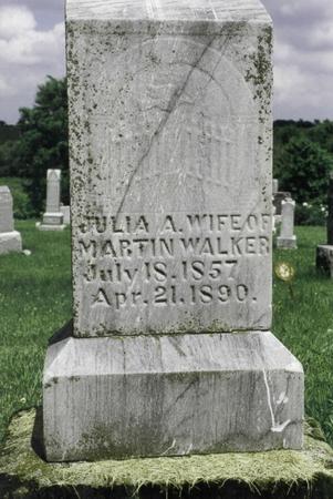 SHELTON WALKER, JULIA - Jefferson County, Iowa | JULIA SHELTON WALKER