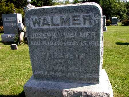 PATTISON WALMER, ELIZABETH - Jefferson County, Iowa | ELIZABETH PATTISON WALMER