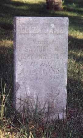 WHITE, ELIZA JANE - Jefferson County, Iowa | ELIZA JANE WHITE