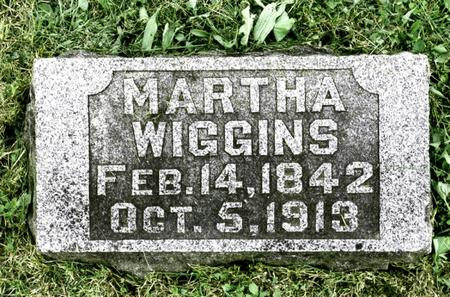WIGGINS, MARTHA ANN - Jefferson County, Iowa | MARTHA ANN WIGGINS